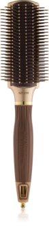Olivia Garden Ceramic + Ion NT-PDL plochý kartáč na vlasy