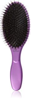Olivia Garden Nano Thermal Violet Edition plochý kartáč na vlasy
