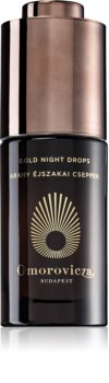 Omorovicza Gold Night Drops siero rigenerante viso con oro