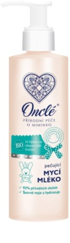 Onclé Baby почистващо мляко-грижа за деца от раждането им