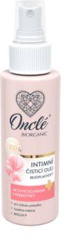 Onclé Biorganic das Reinigungsöl für die intime Hygiene