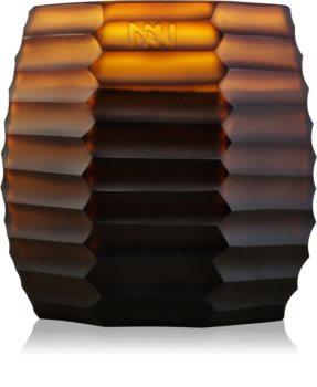 Onno Manyara Brown vela perfumado 11,5 x 13 cm