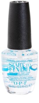 OPI Start To Finish prebase y esmalte de uñas de acabado 2 en 1 3 en 1