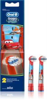 Oral B Stages Power EB10 Cars têtes de remplacement pour brosse à dents 2 pcs