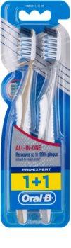 Oral B Pro-Expert CrossAction All In One zubní kartáčky medium 2 ks