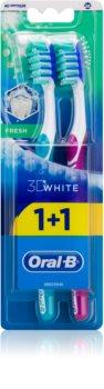 Oral B 3D White Fresh brosses à dents medium