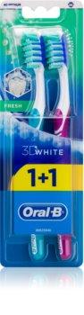 Oral B 3D White Fresh zubní kartáčky medium