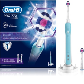 Oral B PRO 770 3D WHITE D16.524.U Electric Toothbrush