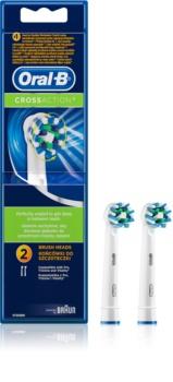 Oral B Cross Action EB 50 Ersättningshuvuden för tandborste 2 st
