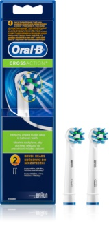 Oral B Cross Action EB 50 Replacement Heads For Toothbrush 2 pcs