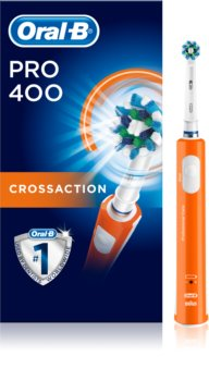 Oral B Pro 400 D16.513 CrossAction Orange Electric Toothbrush