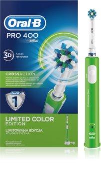 Oral B Pro 400 D16.513 CrossAction Green Elektrisk tandborste