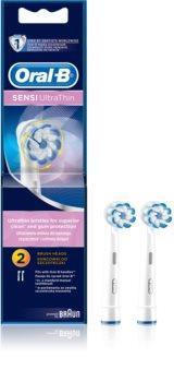 Oral B Sensitive UltraThin EB 60 têtes de remplacement pour brosse à dents 2 pcs