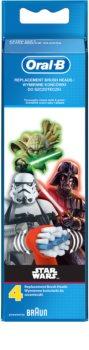 Oral B Stages Power EB10 Star Wars náhradní hlavice pro zubní kartáček 4 ks