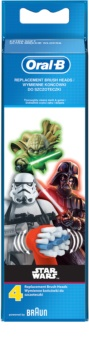 Oral B Stages Power EB10 Star Wars Replacement Heads For Toothbrush 4 pcs