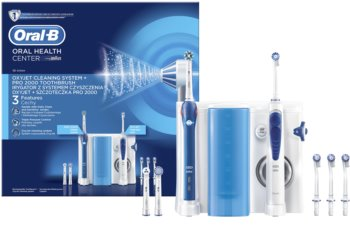 Oral B Oxyjet + PRO 2000 elektrische tandenborstel en orale douche in één