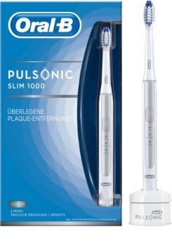 Oral B Pulsonic Slim One 1000 Silver Zahnbürste mit Schalltechnologie