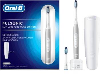 Oral B Pulsonic Slim Luxe 4200 Platinum sonična četkica za zube