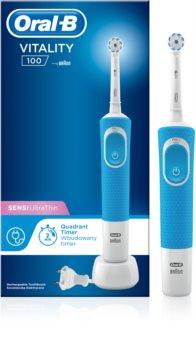 Oral B Vitality 100 Sensi UltraThin D100.413.1 Blue elektrický zubní kartáček