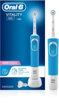 Oral B Vitality 100 Sensi UltraThin D100.413.1 Blue электрическая зубная щетка