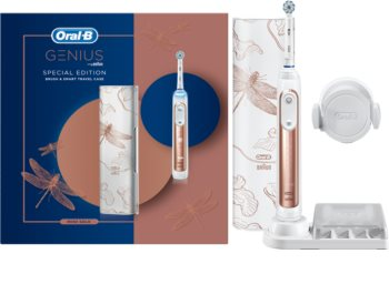 Oral B Genius 10000 Rose Gold Special Edition електрическа четка за зъби