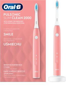 Oral B Pulsonic Slim Clean 2000 Pink ультразвуковая электрическая зубная щетка