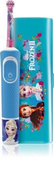 Oral B Vitality Kids 3+ Frozen elektryczna szczoteczka do zębów (+ etui)