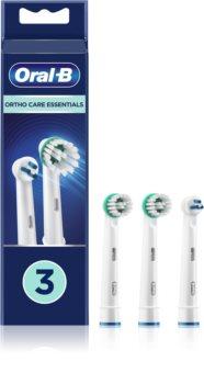 Oral B Ortho Care Essentials têtes de remplacement pour brosse à dents pour les utilisateurs d'appareils dentaires fixes