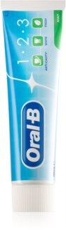 Oral B 1-2-3 паста за зъби с флуорид 3 в 1