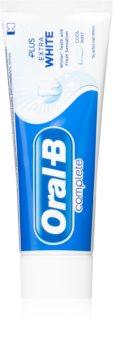 Oral B Complete Plus Extra White bleichende Zahnpasta zur Komplettpflege