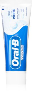 Oral B Complete Plus Extra White Whitening Toothpaste for Complete Dental Care