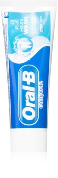 Oral B Complete Plus Mouth Wash Toothpaste for Fresh Breath