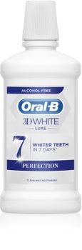 Oral B 3D White Luxe apa de gura pentru albire