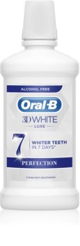 Oral B 3D White Luxe Mundwasser mit bleichender Wirkung