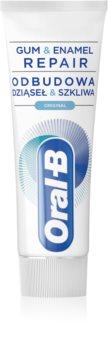 Oral B Gum & Enamel Repair Original Zahnpasta stärkt den Zahnschmelz