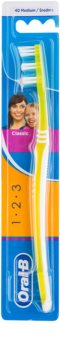 Oral B 1-2-3 Classic Care Toothbrush Medium