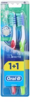 Oral B 3D White Fresh Medium Toothbrushes