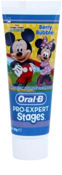 Oral B Pro-Expert Stages Mickey Mouse pasta de dientes para niños