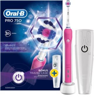 Oral B Pro 750 D16.513.UX 3D White elektrický zubní kartáček