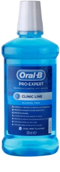 Oral B Pro-Expert Clinic Line elixir bocal sem álcool