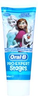 Oral B Pro-Expert Stages Frozen pasta de dentes para crianças