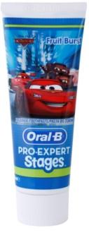 Oral B Pro-Expert Stages Cars dentifrice pour enfants