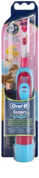 Oral B Stages Power DB4K Princess baterie perie de dinti pentru copii fin