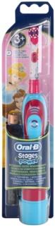 Oral B Stages Power DB4K Princess bateriový dětský zubní kartáček soft