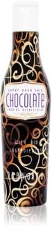 Oranjito Max. Effect Chocolate Solariesolcreme med økologiske ingredienser og brunings accelerator