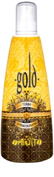 Oranjito Max. Effect Gold Turbo Lapte de bronzare la solar pentru accelerarea bronzului