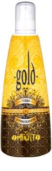 Oranjito Max. Effect Gold Turbo latte abbronzante per solarium per accelerare l'abbronzatura