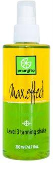 Oranjito Level 3 Shake spray abbronzante bifasico solarium