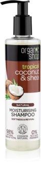 Organic Shop Natural Coconut & Shea Moisturizing Shampoo for Dry and Damaged Hair