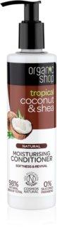 Organic Shop Natural Coconut & Shea balsamo idratante per capelli rovinati e secchi